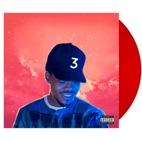 CHANCE THE RAPPER Coloring Book Red Vinyl