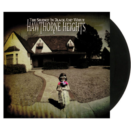 HAWTHORNE HEIGHTS In Silence In Black And White Vinyl