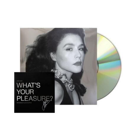 JESSIE WARE Whats Your Pleasure PLatinum Signed CD