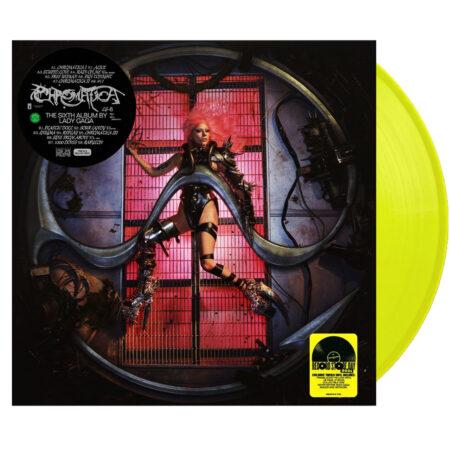 LADY GAGA Chromatica RSD Deluxe Yellow Vinyl