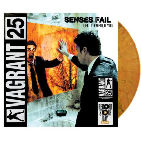 SENSES FAIL Let It Enfold You Orange Vinyl (RSD21)
