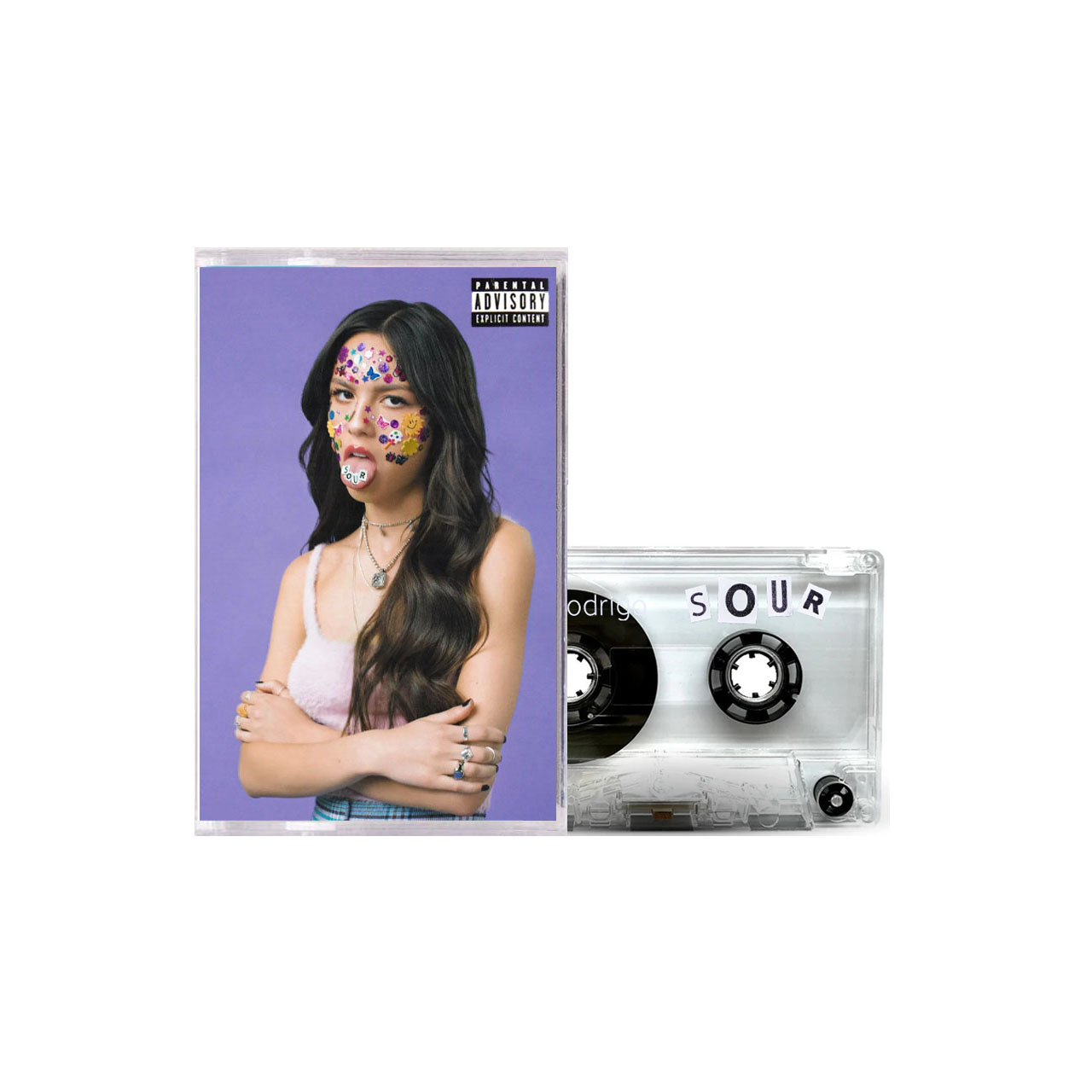 OLIVIA RODRIGO Sour Standard Clear Cassette